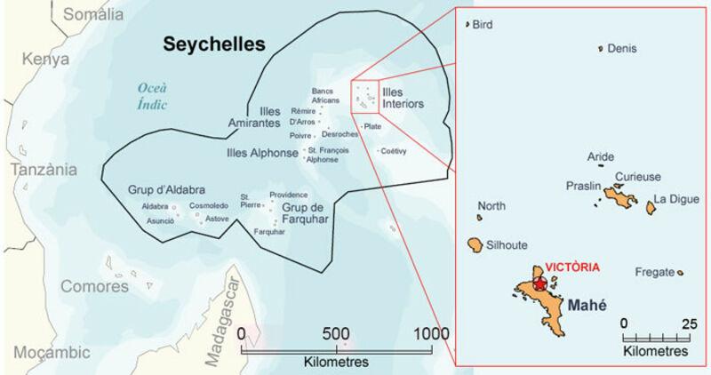 Seychellen Karte Afrika.Kinderweltreise ǀ Seychellen Land
