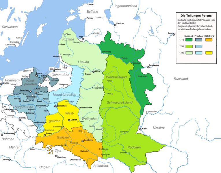 Deutsche Karte Vor Dem 1 Weltkrieg.Kinderweltreise ǀ Polen Geschichte Polens Ii