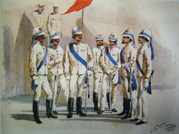 Italienische Kolonialtruppen in Afrika