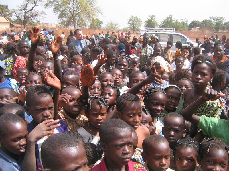 Alltag Von Kindern In Afrika