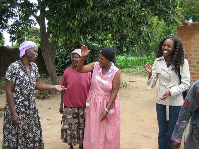 Simbabwe Frauen