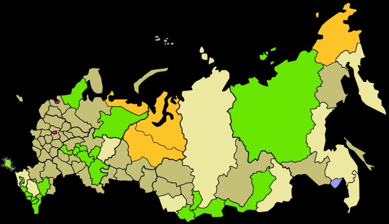 zeitzonen in russland