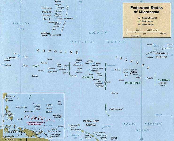 Kinderweltreise ǀ Foderierte Staaten Von Mikronesien Land