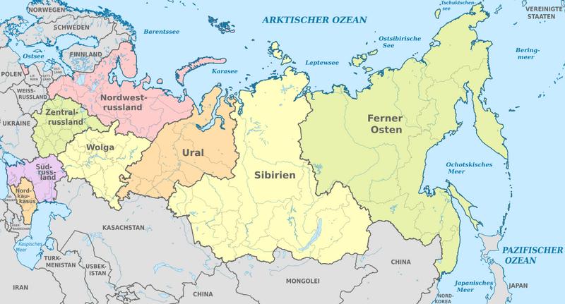 Kinderweltreise ǀ Russland Land