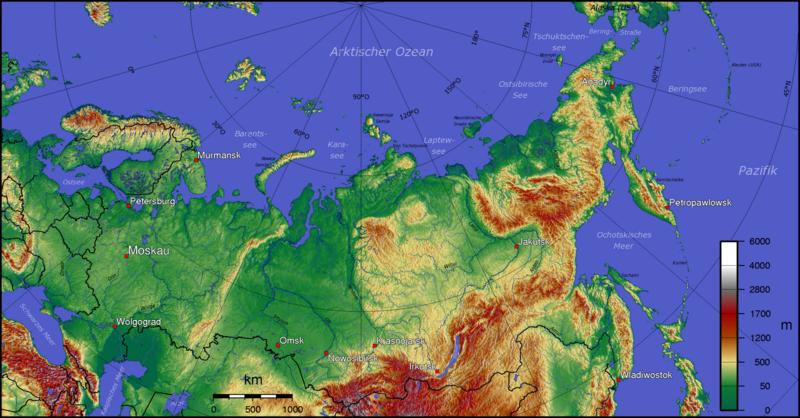 Uralgebirge Karte.Kinderweltreise ǀ Russland Land