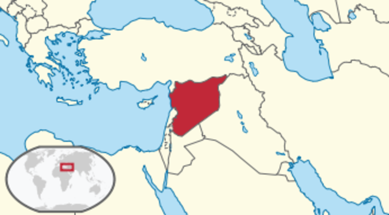 Karte Syrien Irak.Kinderweltreise ǀ Syrien Land