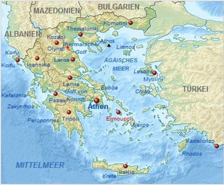 Karte Iran Nachbarlander.Kinderweltreise ǀ Griechenland Land