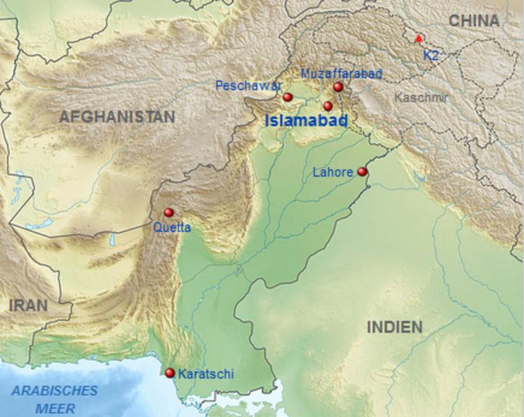 Karte Iran Nachbarlander.Kinderweltreise ǀ Pakistan Land
