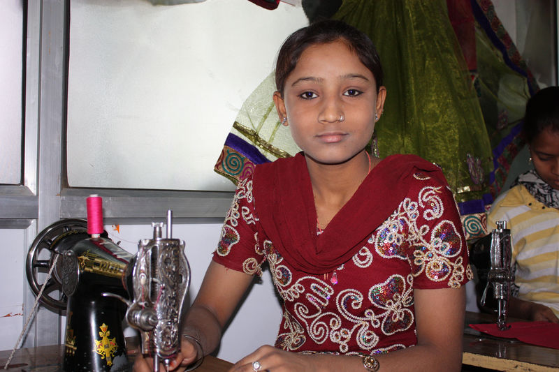 Indische Mädchen in Australien