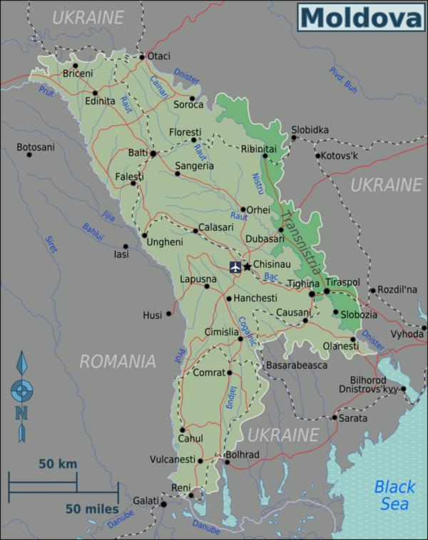 Moldawien Karte.Kinderweltreise ǀ Moldawien Land