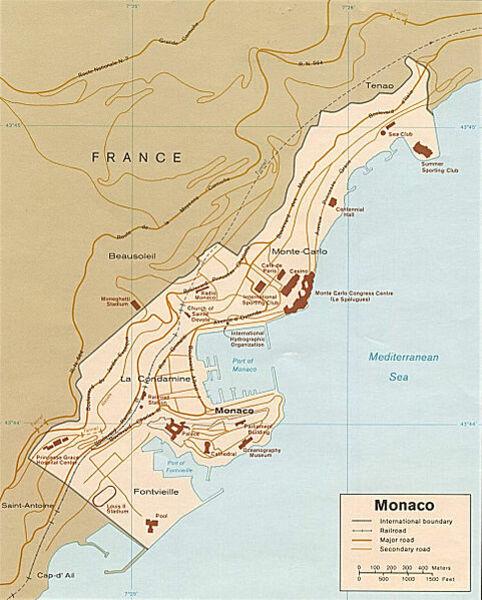 Monaco Italien Karte.Kinderweltreise ǀ Monaco Land