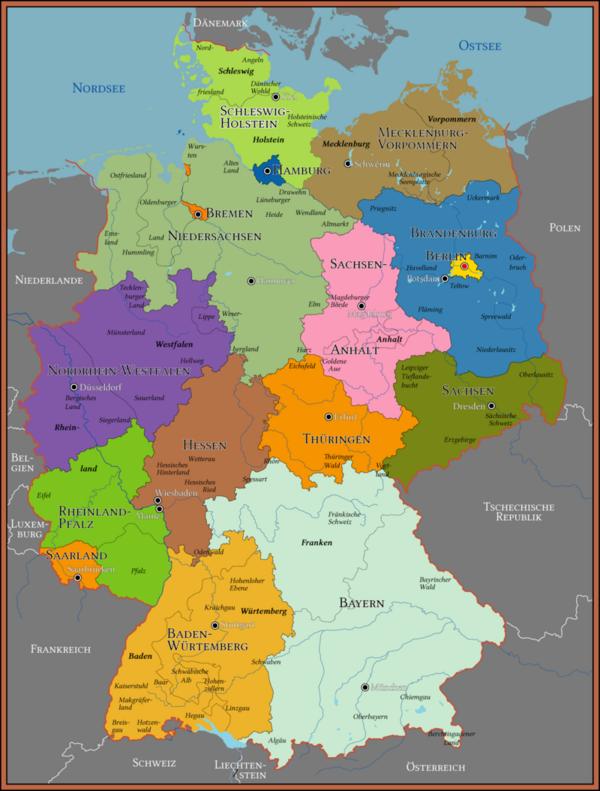Der bundesländer einwohnerzahl Einwohnerzahl in