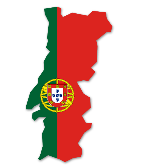 flagge portugal zum ausdrucken  vorlagen zum ausmalen
