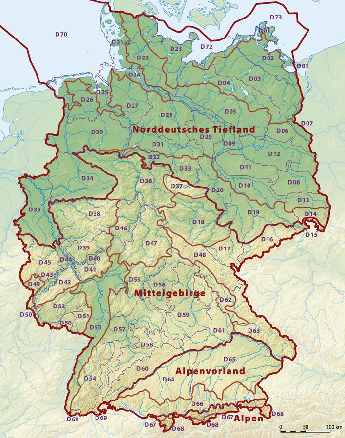 Deutschland Karte Flusse Und Gebirge.Kinderweltreise ǀ Deutschland Land