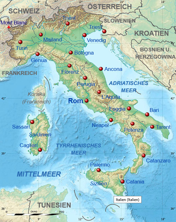 Kinderweltreise ǀ Italien Land