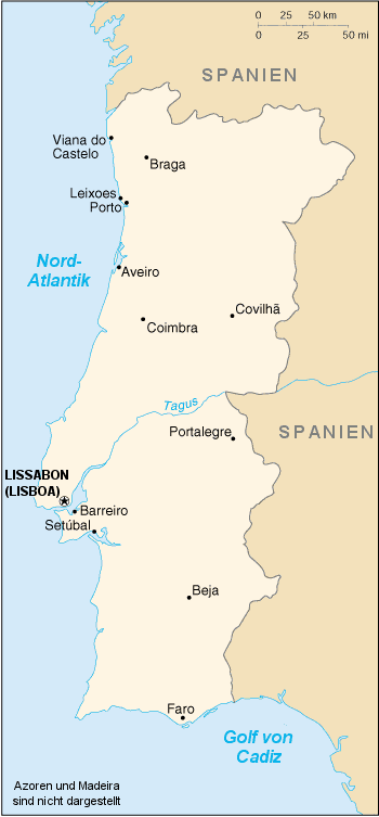 Azoren Karte Portugal.Kinderweltreise ǀ Portugal Land