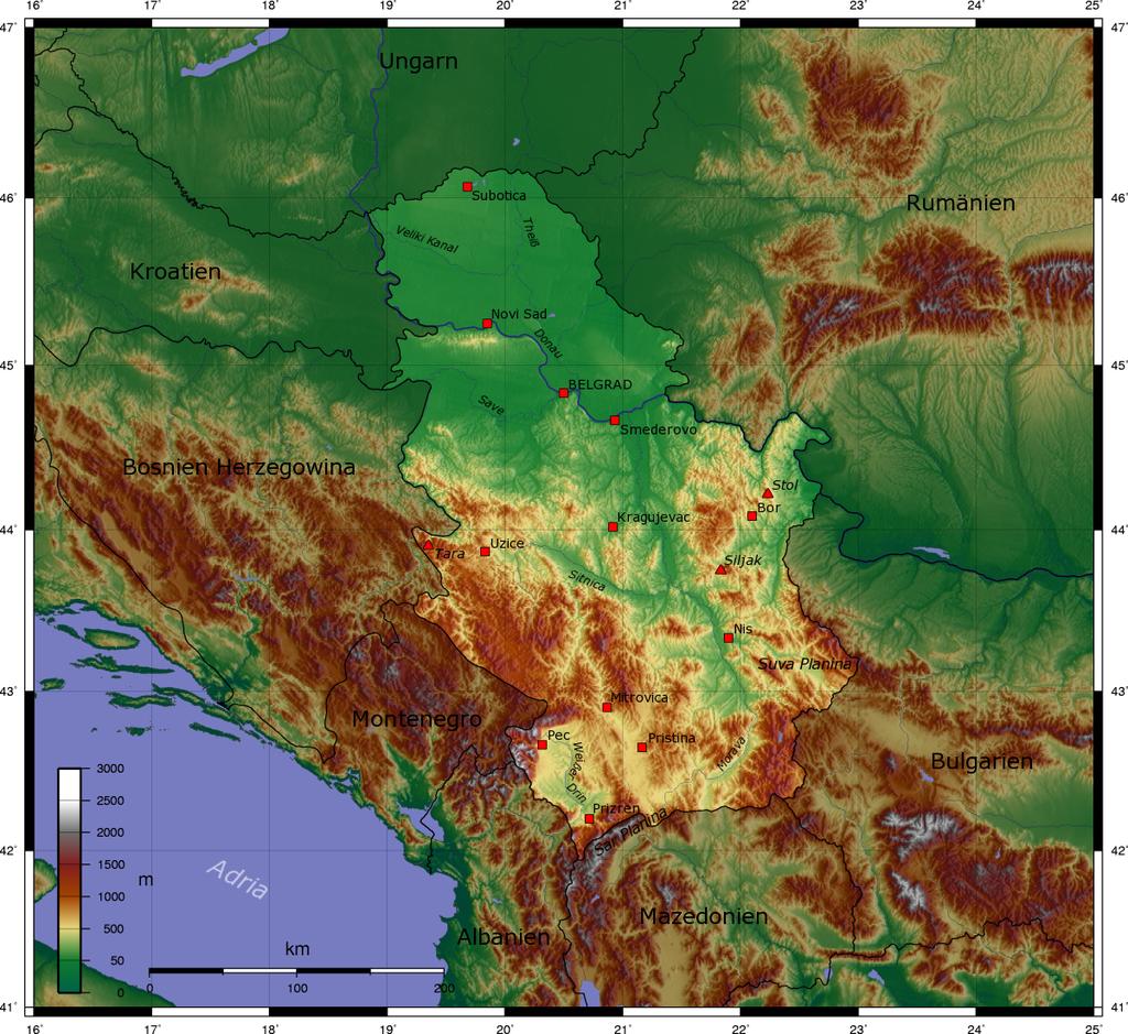 Jugoslawien Karte 2018.Kinderweltreise ǀ Serbien Land